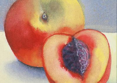 Cut Peach