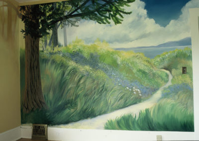 Field and Forest Mural