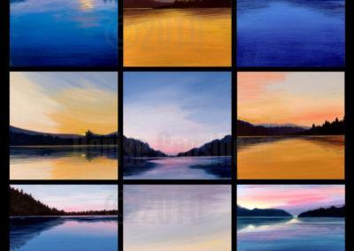Nine Lakes - Panel
