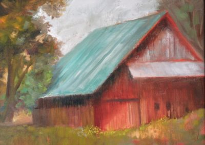 Rusty Red Barn